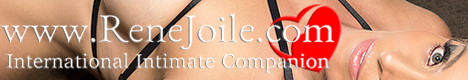International escort and companion, Rene Joile